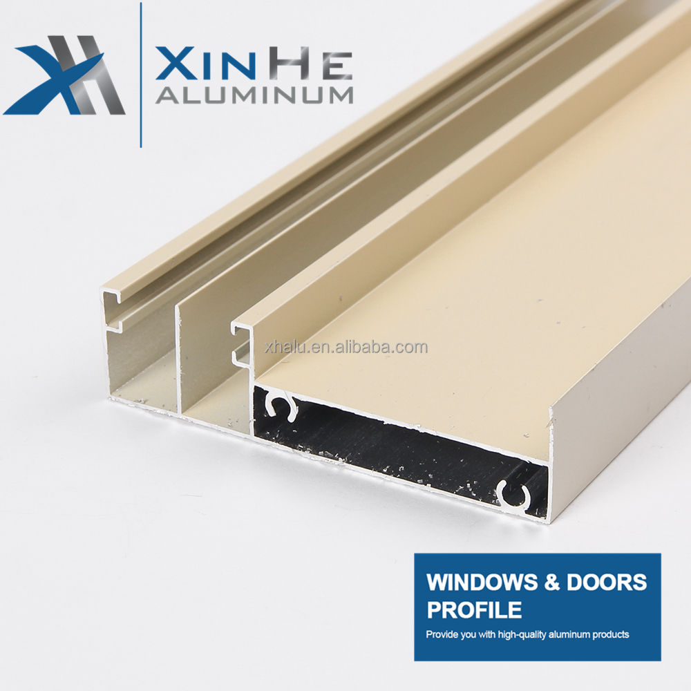 China Foshan to Africa fast selling alu sliding window frame and door frame profile