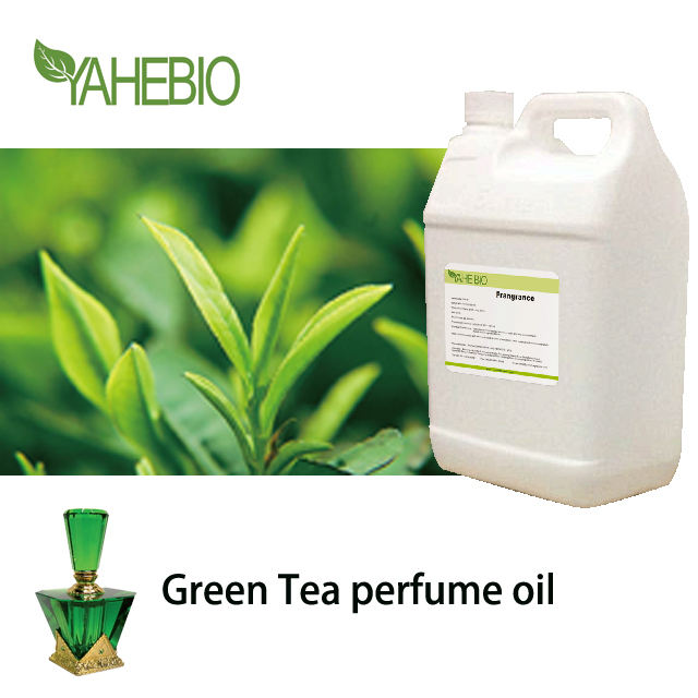 Long lasting factory price high quality green tea fragrance oil for perfume