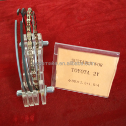 OEM auto engine parts Piston Ring for TOYOTA 2Y