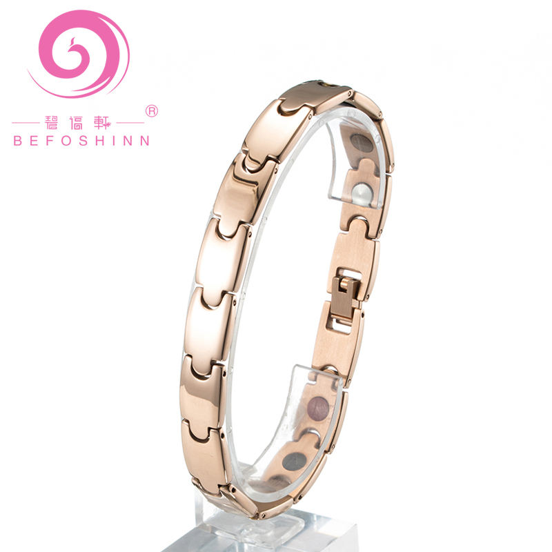 2018 Fashion Couple Jewelry Fashion Titanium Germanium Bracelet Fashion Magnetic Bracelet Girls and Boys Marriage Gifts