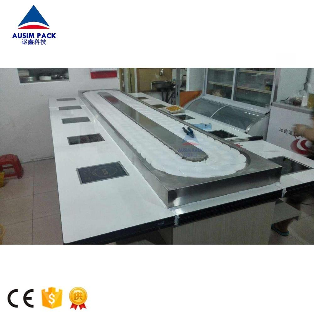 High Quality Grade the most popular sushi belt system,sushi conveyor ,sushi Stainless steel conveyor