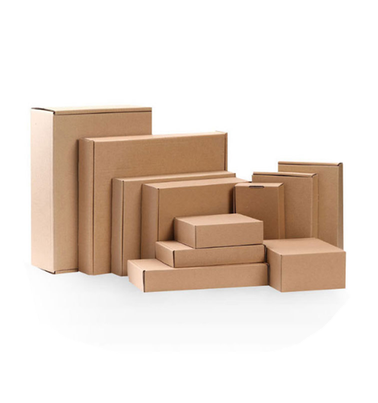 Cheapest Lower MOQ Stock Cardboard Packaging Mailing Moving Shipping Boxes Corrugated Box Cartons