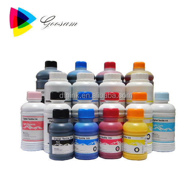 Finger indelible textile ink for Mimaki Tx500P-3200DS