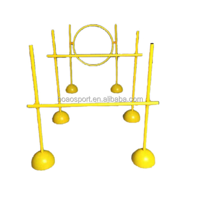 Agility Pole Jump Hindernis Training Set voor Lacrosse Indoor Outdoor Speed Voetbal Apparatuur