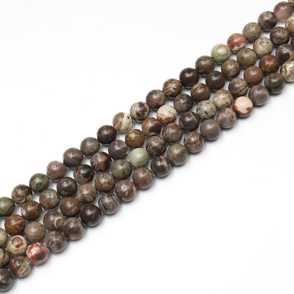 изображения естественный цвет новый зеленый камни 8 мм круглые бусины ювелирных изделий маркировки драгоценный бисер