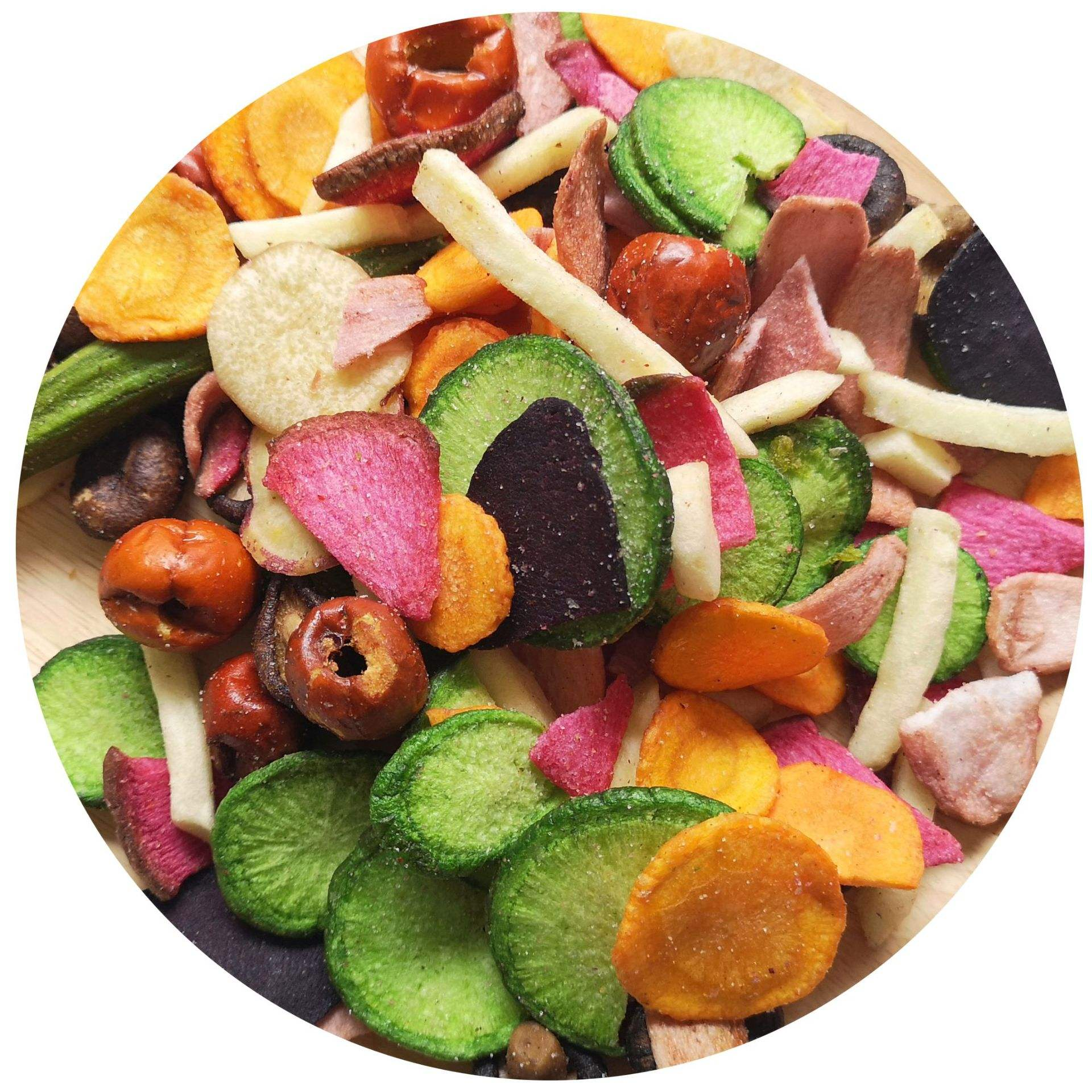 Delicious VF crispy mixed vegetable chips