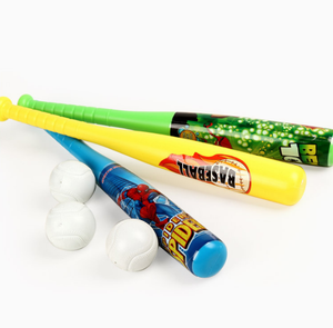 Professionelle kinder outdoor sporting waren mini baseball bat casual kunststoff hohl spielzeug