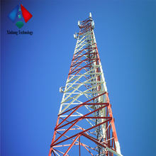 Factory Supply Customized 60m Tower 3-Leg Self Supporting Telecom Steel Lattice Tower