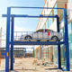Hot sale 5 ton hydraulic basement garage car elevator four post car lift