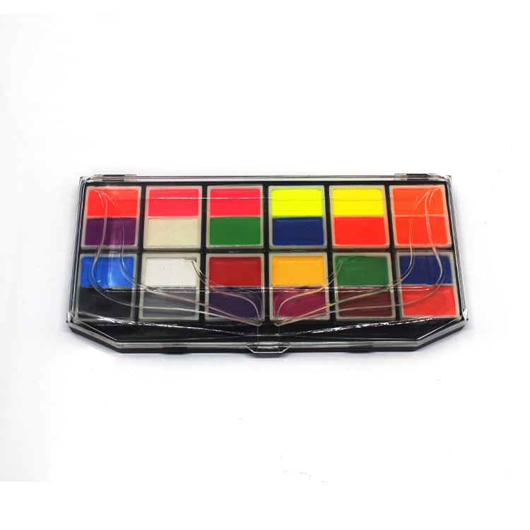 24 colors halloween face use body painting festival Birthday party gifts