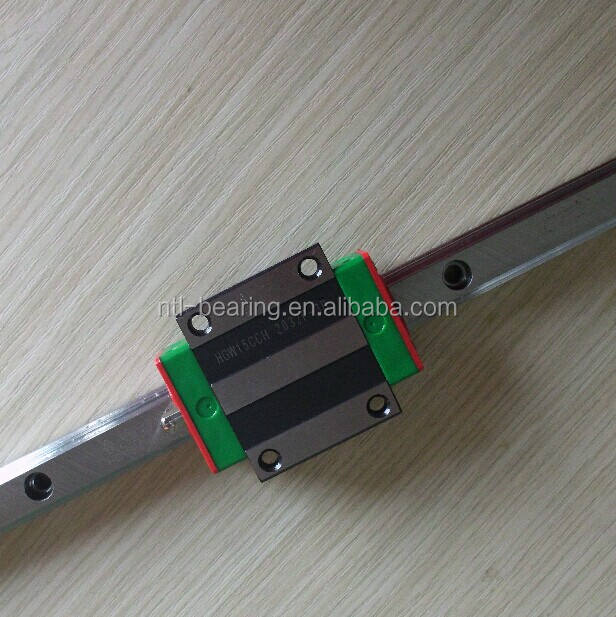 Original HIWIN Linear guideway system (HGW15CC block and HGR15 rail)