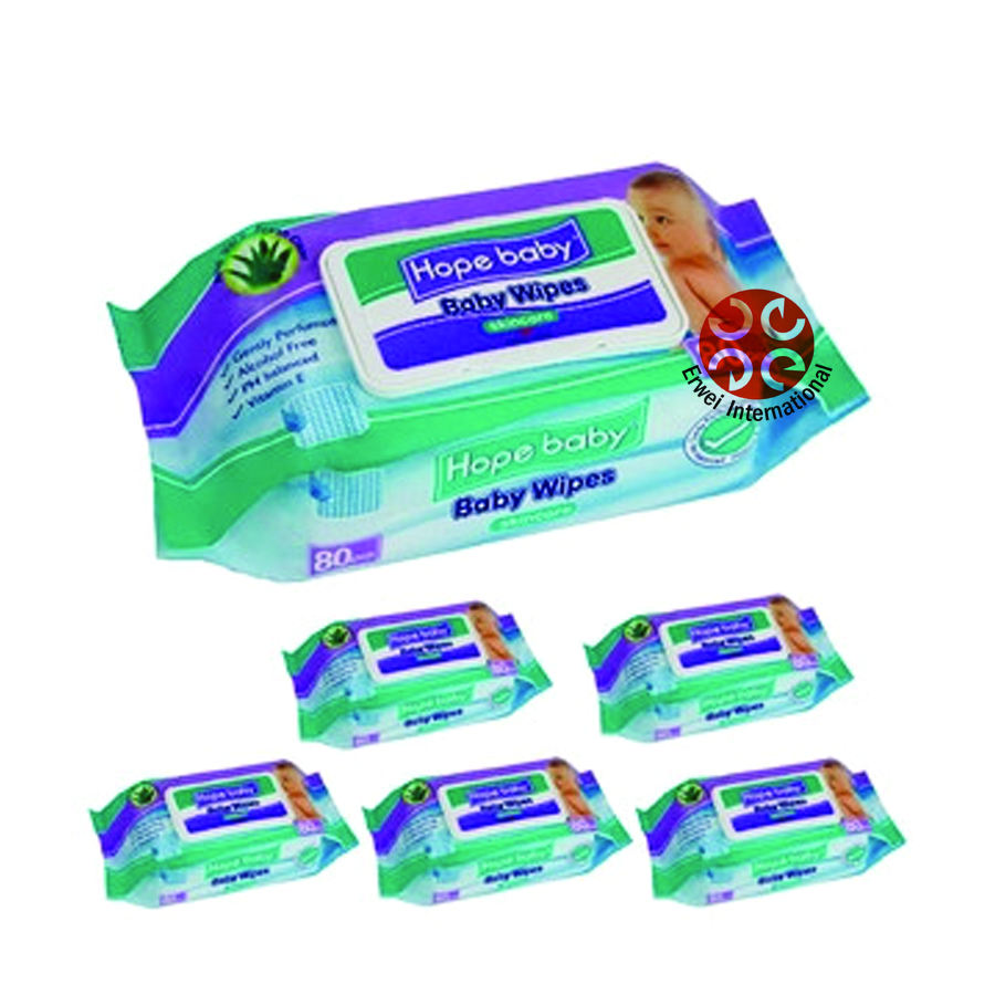 Natural Ingredients Hope Baby Wipes