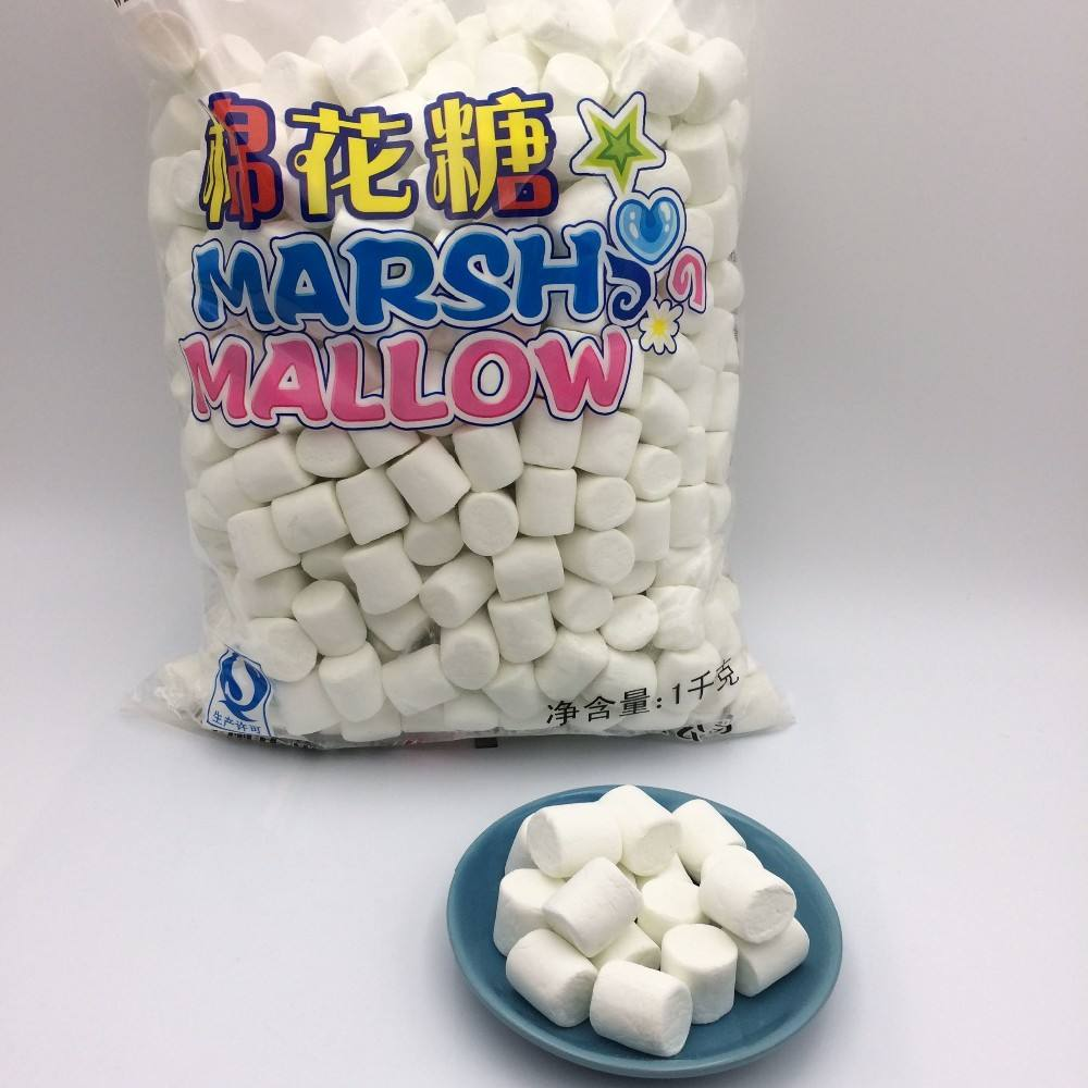 1kg bag packing Sweet white Marshmallow Candy