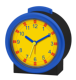 high quality blue time teacher kid wake up clock silent plastic silent table clock for kid BM11201