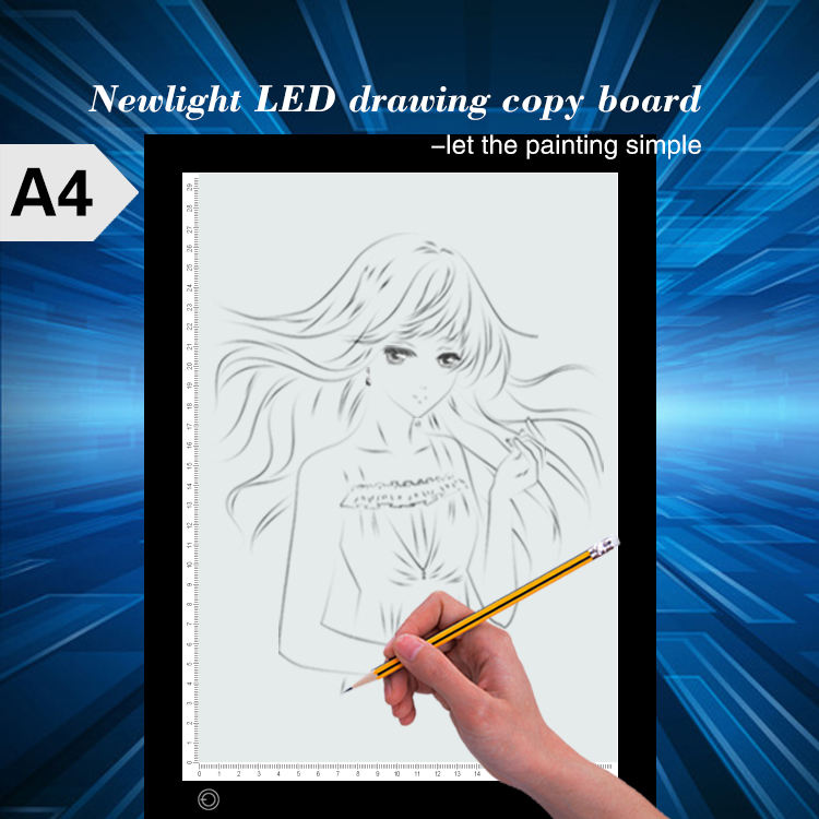 Great Studying Tool. Acrylic Copy Board . Easy To Practice Handwriting And Drawing . Adjustable Brightness Led Light .