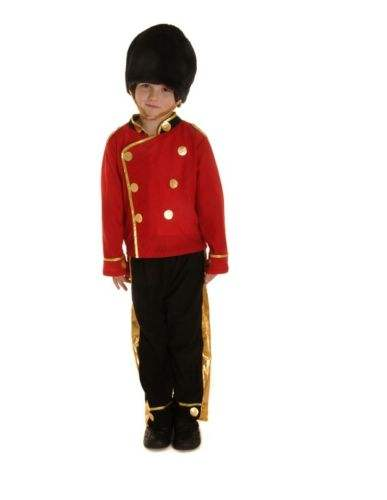 Kind Jungen Kinder Royal London Queen Guard Soldat <span class=keywords><strong>Kostüm</strong></span> <span class=keywords><strong>Kostüm</strong></span> Party Kostüme CB926