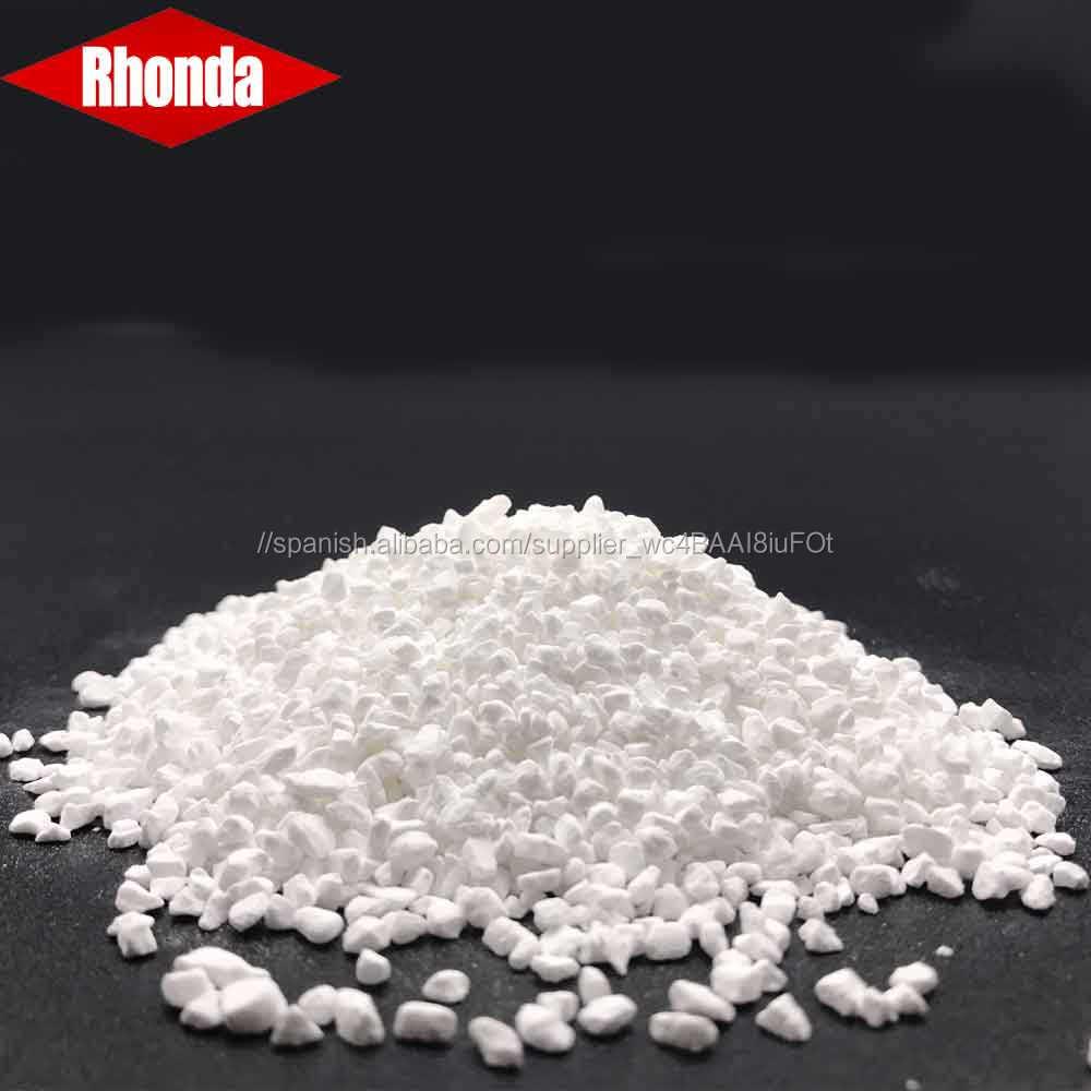 Suministro directo de fábrica 65% cloro 70% hipoclorito de calcio pellets para el tratamiento del agua