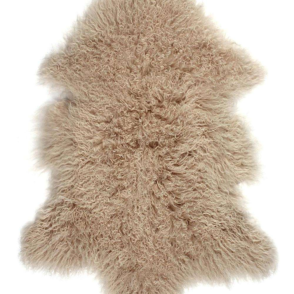 100% real hairy Mongolian fur rug long hair soft flurry Tibet lamb skin hides rugs