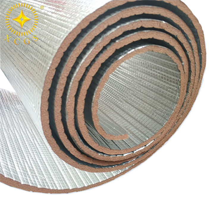 Fire retardant aluminum foil PE foam insulation building material for roof/wall/floor thermal insulation
