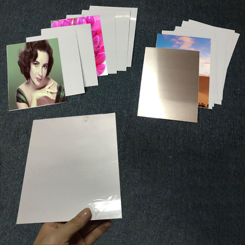 20cm * 30cm Sublimation blank white Aluminum Metal Sheet