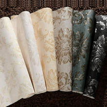 luxury deep embossed natural waterproof pvc wall paper wallpaper suppliers china for hotel office walls