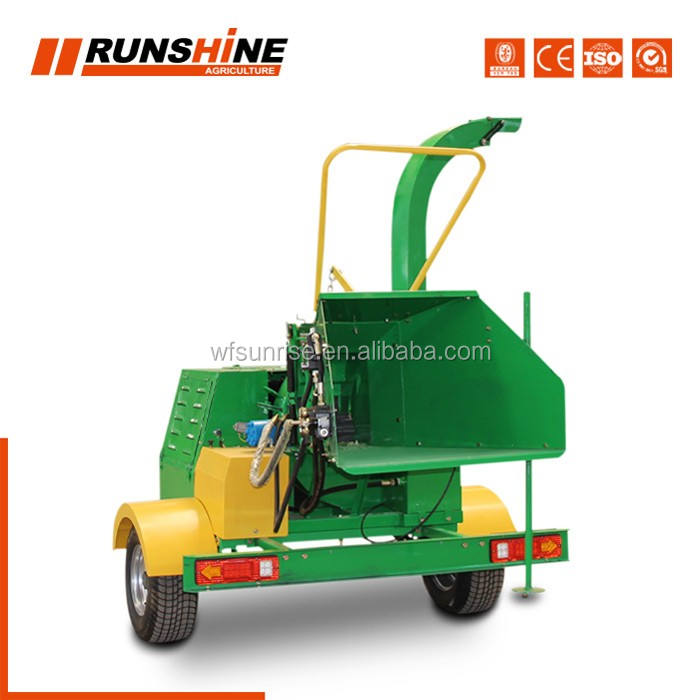 ODM Acceptable Shredding Wood Chipper Shredder Mulcher