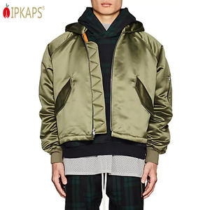 Men Winter Fashion New Style Quilted Oversized Hooded Varisty Padded Jackets Nylon Stretch Tall Satin Bomber Jacket