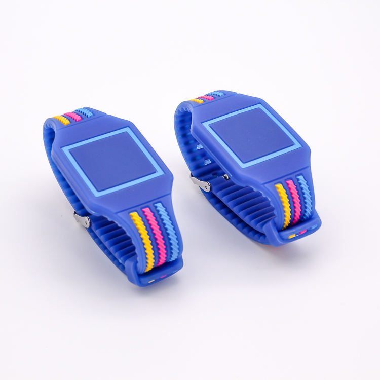 Bluecom Waterproof Yellow 13.56MHz MF IC RFID Silicone Proximity Wristband Watch Tag-50p