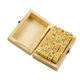 40Pcs DIY Decorative Seal Wooden Stamps Box with Cute Cat Seal Set