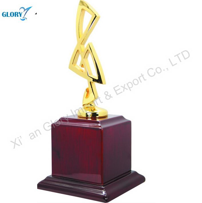 China Wood Metal Memento Trophy for Souvenir