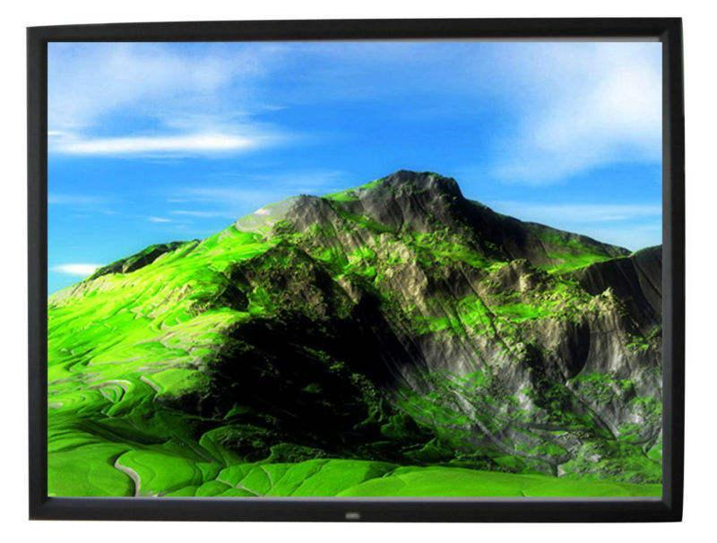 マルチ- 形式、 アルミとフレームの投影スクリーン用ベルベットホームシアター会議室使用