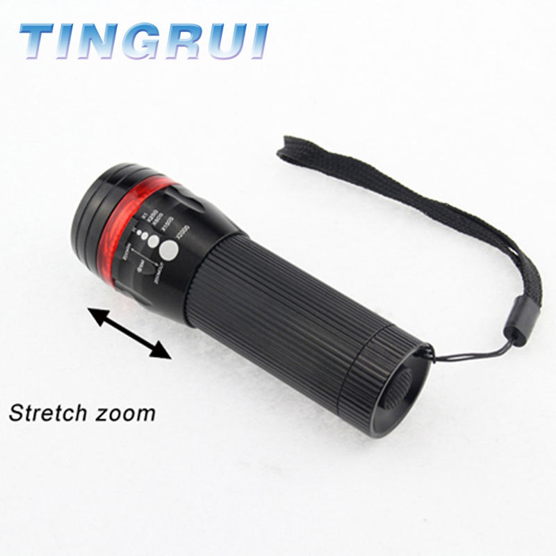 China gold supplier bike torch light led flashlight