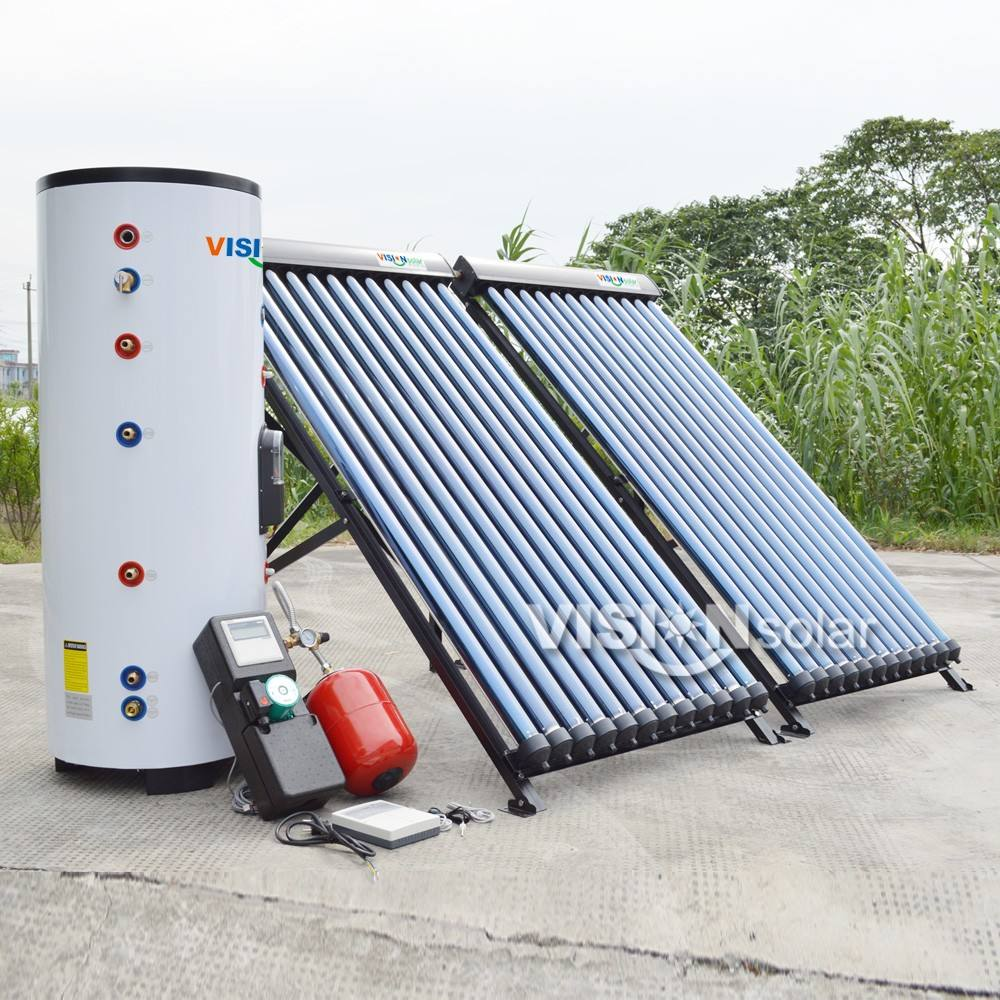 Economical heat pipe collector swimming pool solar water heater
