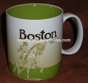 nuevo 2014 famour starbucks termo taza de cerámica