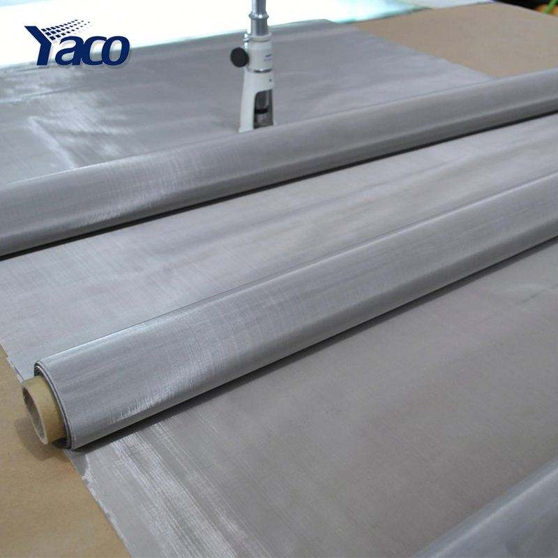Hengshui wholesale products plain woven 201 304 304L 316 316L inox stainless steel woven wire mesh