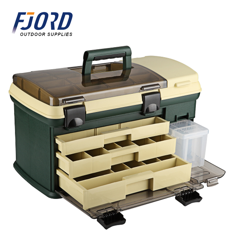 FJORD High Strength Portable Assortment Waterproof Multi-function Plastic Tool Box Fishing Box
