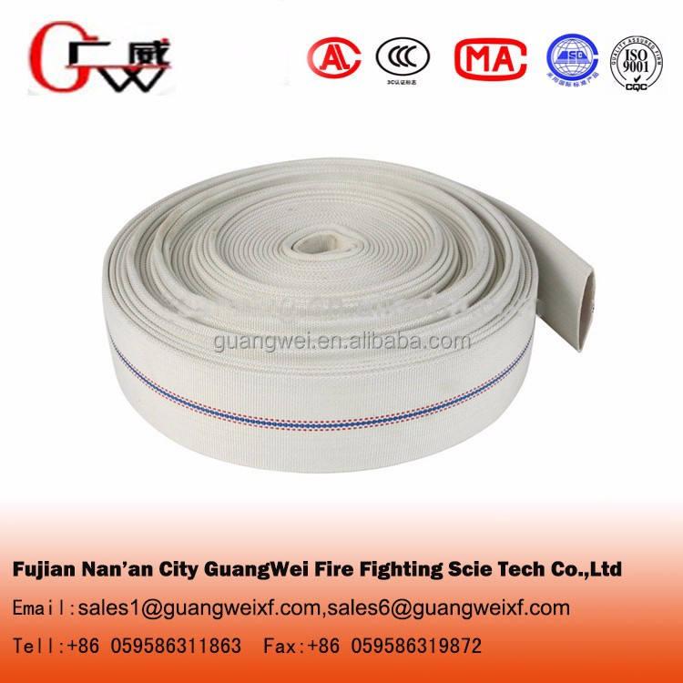 Ткань пожарный шланг оборудования с пожарный шланг адаптеры
