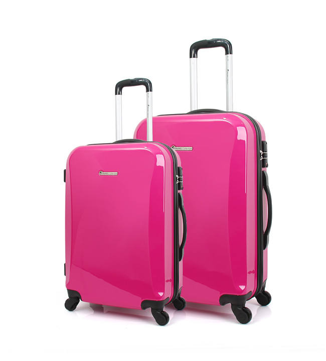 Nylon Best 4 Wheel Suitcase Lightweight Sky Travel Trolley Bag Luggage