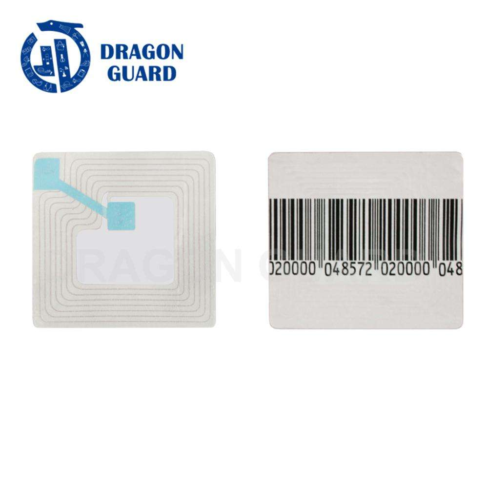 1000 RF Shop Security Theft Adhesive Label Tag 8.2MHz 3x4cm Barcode