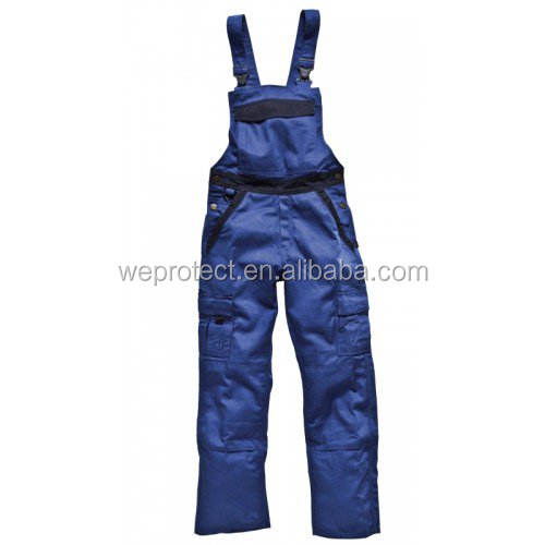 Hot sale factory direct price bib work pants with knee pads From China factory