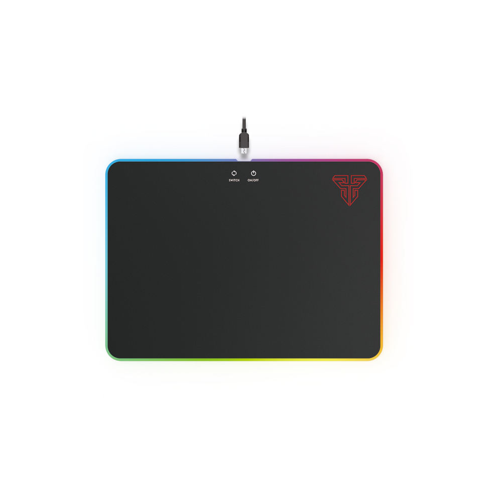 Top Venda FANTECH RGB modo Gaming Mousepad com 4 Espectro RGB