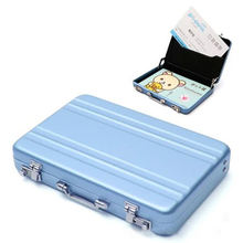 Mini Cute Password Briefcase Business Cardcase Bank Card Case Holder