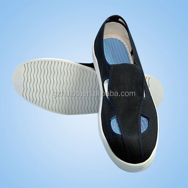 White/black/blue Cleanroom ESD shoes,Anti-static shoes