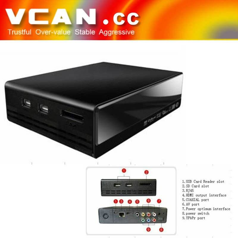 Android 4.1 smart tv box Google Android 4.0 OS TV BOX (VCAN0411)