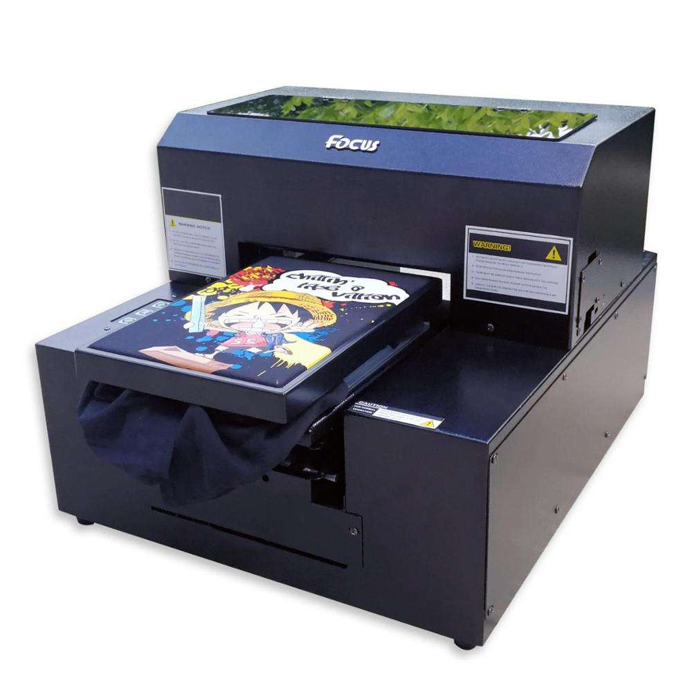 Hot sale personalized digital automatic bag t-shirt fabric printing machine