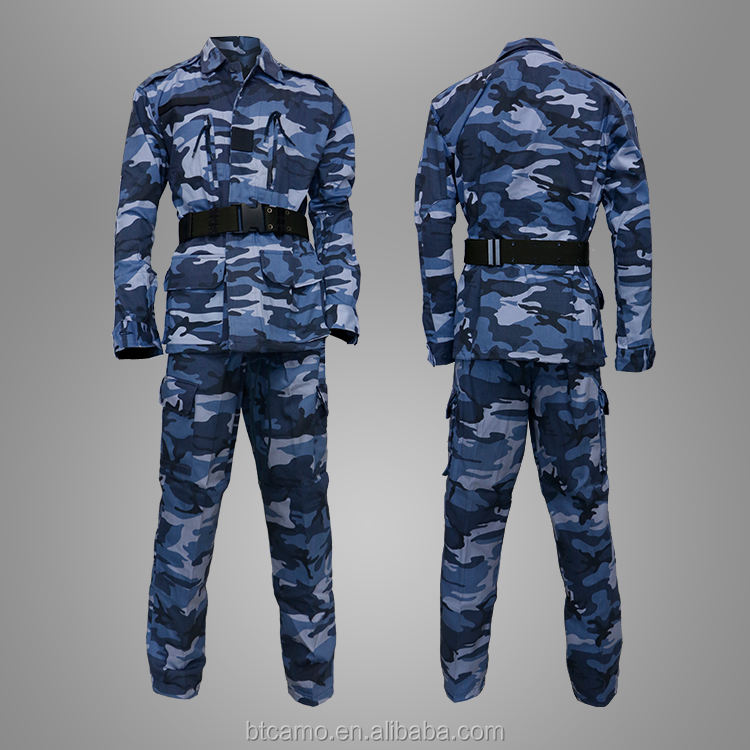 Good Quality Military Ocean Camouflage For M64 Jacket