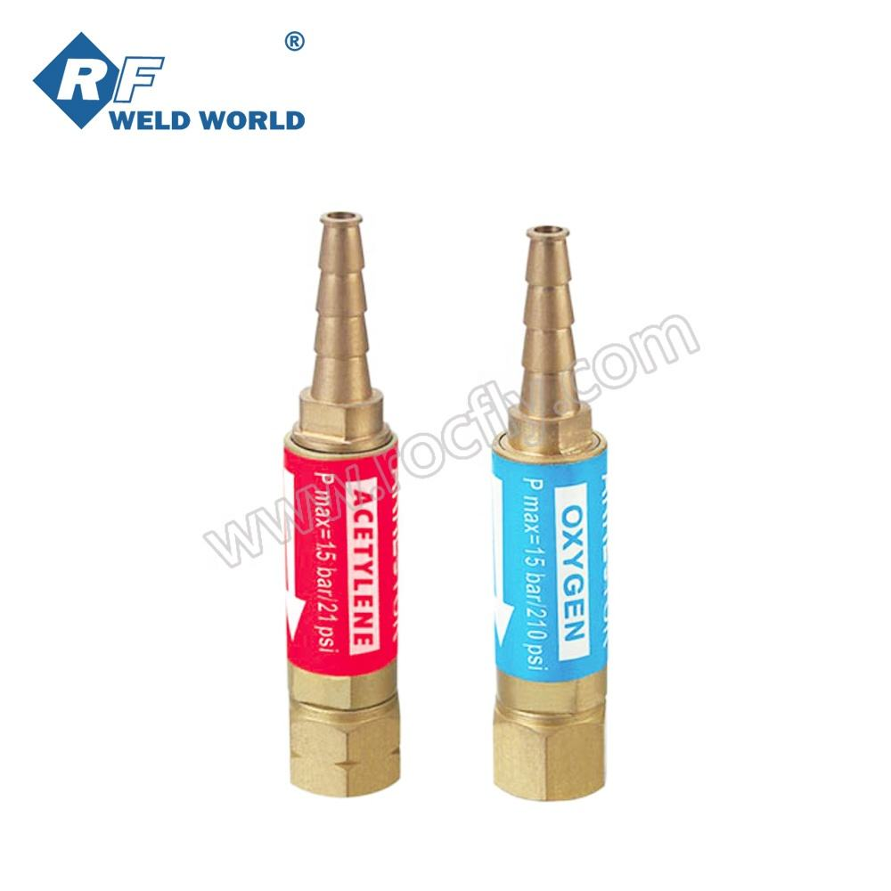 Oxy-Propane Oxy-Acetylene Welding Tool Cutting Soldering Repair Fix Equipment with Handle Grip Portable Size Cooper H01-6 Injection Type Gas Welding Torch