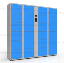 Smart metal cabinet luggage storage barcode electronic locker for school student gym laundry beach