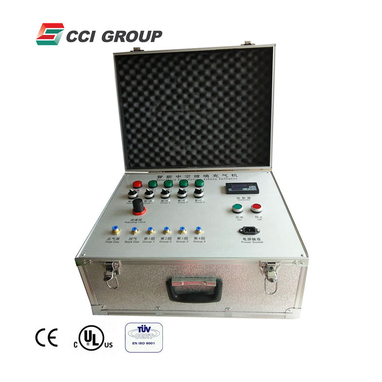 ZCJ01 cheap price portable insulating glass argon gas filling machine