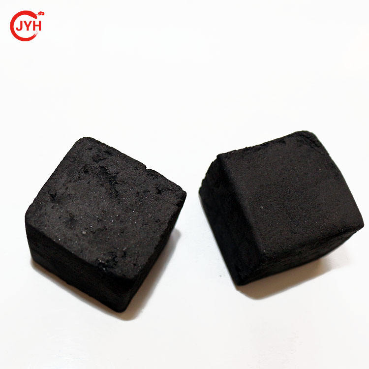 China odorless 26*26*26mm coconut charcoal for shisha